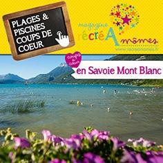 Où se baigner en famille en Savoie Mont-Blanc ?