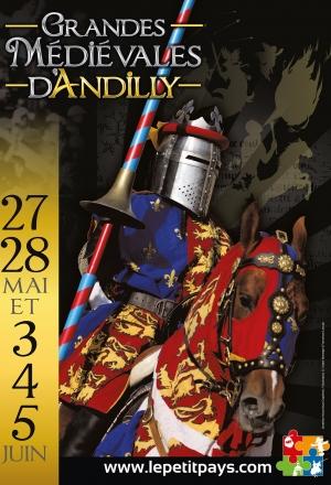 Les Grandes Médiévales d'Andilly les 27-28 mai & 3-4-5 juin 2017