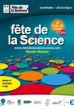 Fête de la Science 2016 en Haute-Savoie