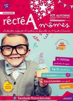 Parution magazine RécréAmômes rentrée/automne 2018 !