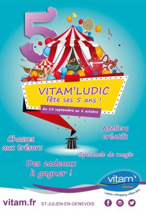 Vitam'Ludic fête ses 5 ans !
