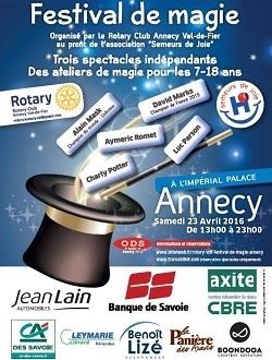 Festival de Magie d'Annecy 2018