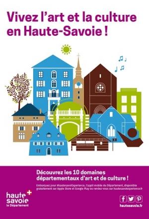 Découvrez les 10 sites départementaux d'art et de culture en Haute-Savoie !