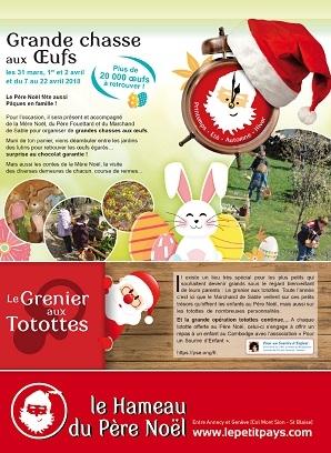 Grande chasse aux œufs du Père Noël